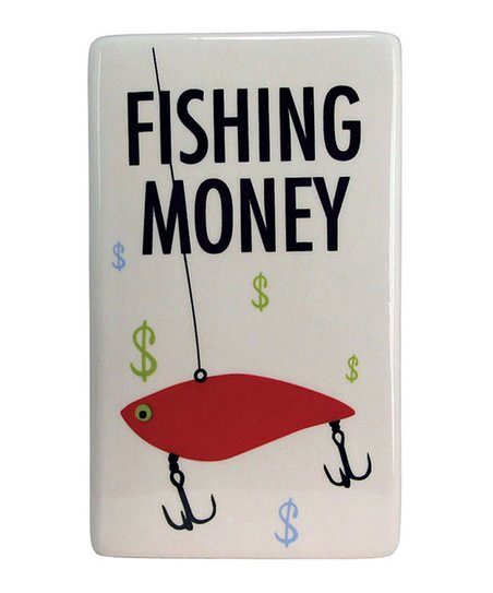 'Fishing Money' Bank