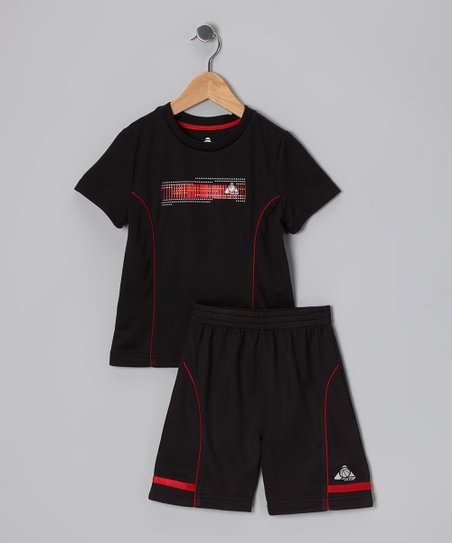 Black Performance Tee & Shorts - Infant & Toddler