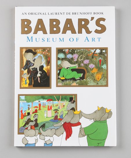 Babar's Museum of Art Hardcover