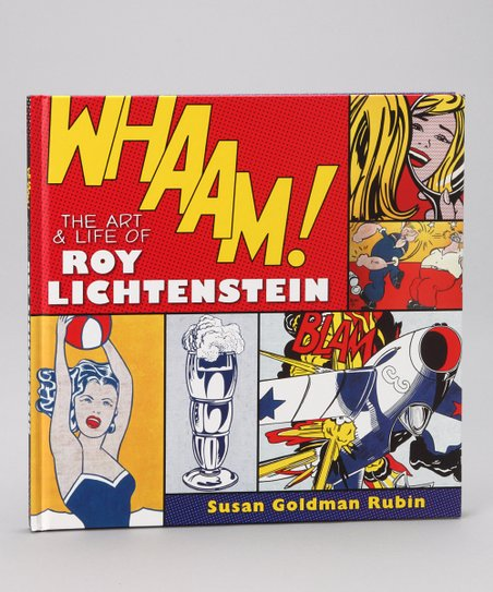 Whaam! The Art and Life of Roy Lichtenstein Hardcover