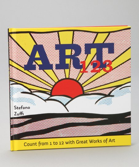 Art 123: Count from 1 to 12 with Great Works of Art Hardcover