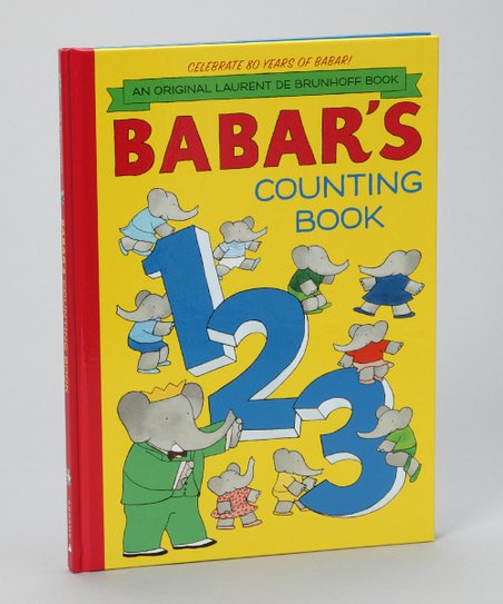 Babar's Counting Book Hardcover