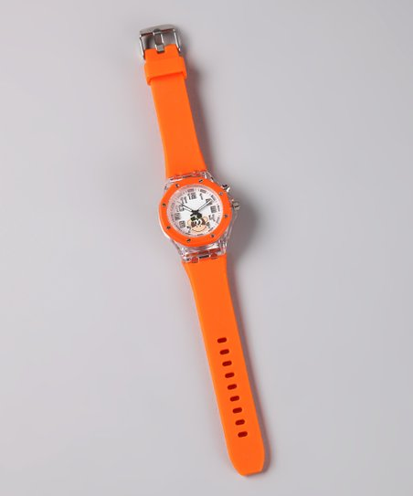 Orange Frenzy Light-Up Monkey Watch