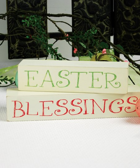 'Easter Blessings' Block Set