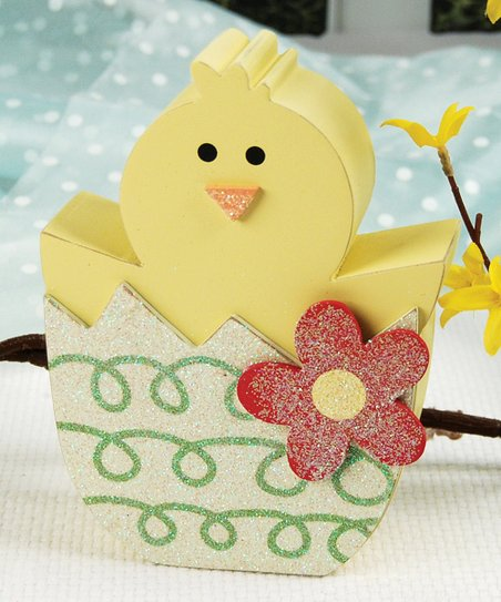 Yellow Chick Figurine