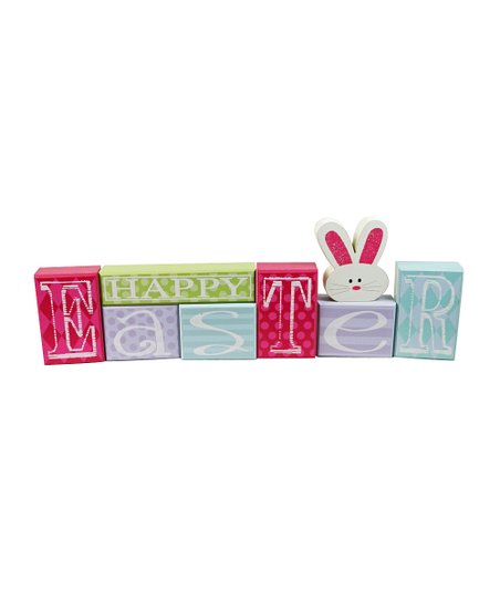 'Happy Easter' Block Set