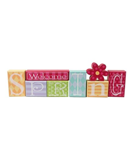 'Welcome Spring' Block Set