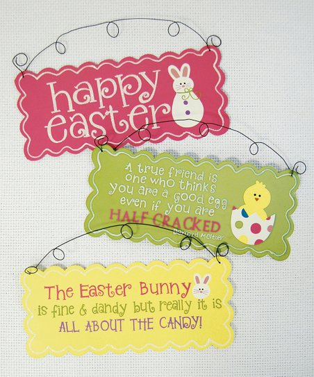 Easter Cheer Wall Art Set