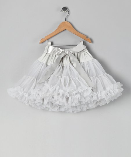 Gray Petite Pettiskirt - Infant