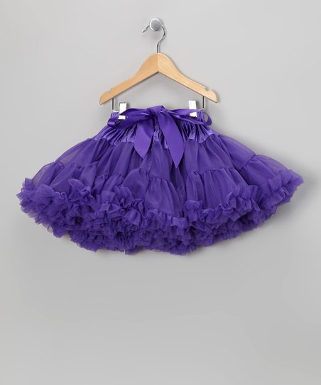 Purple Petite Pettiskirt - Infant, Toddler & Girls
