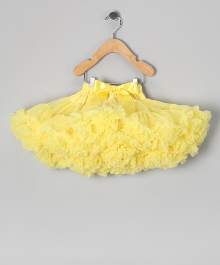 Yellow Pettiskirt - Infant, Toddler & Girls
