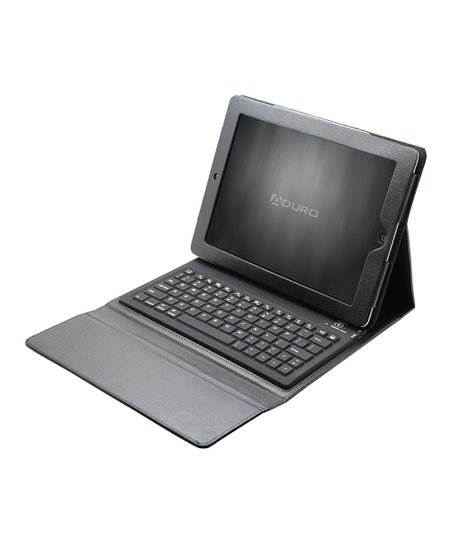Black Bluetooth Keyboard Folio Case for iPads 2/3/4