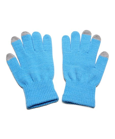 Blue Touch Screen Gloves