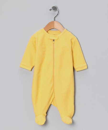Ahpa-Chapa-Chapa Cornbread Zip-Up Footie - Infant