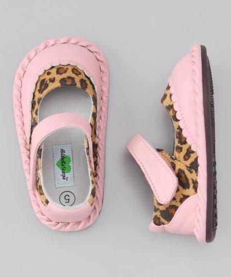 Light Pink Cheetah Monica Mary Jane