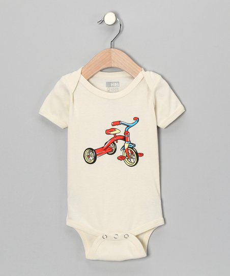 Natural Tricycle Organic Short-Sleeve Bodysuit - Infant