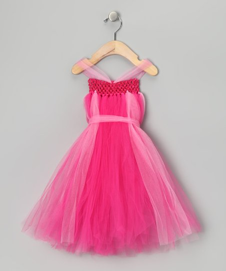 Bright Pink Dress - Infant, Toddler & Girls