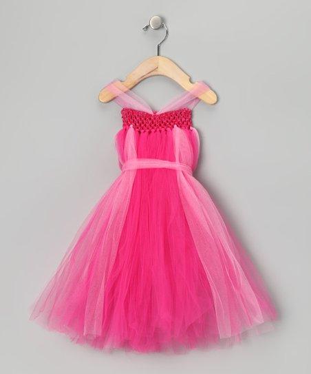 Bright Pink Dress – Infant, Toddler & Girls