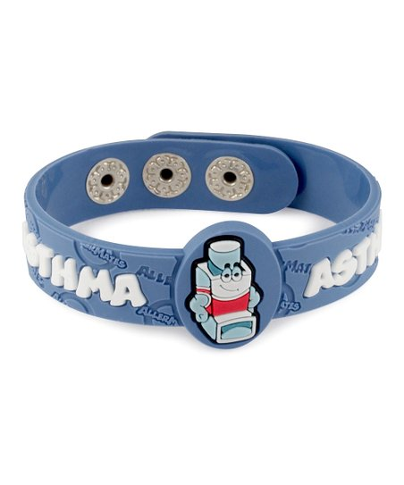 Asthma Health Alert Bracelet - Set of Two