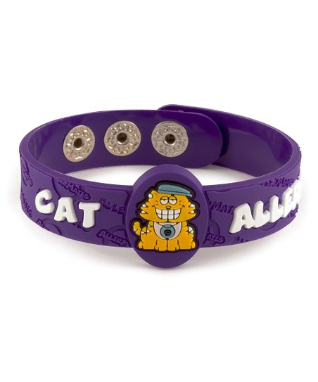Cat Health Alert Bracelet - Set of Two