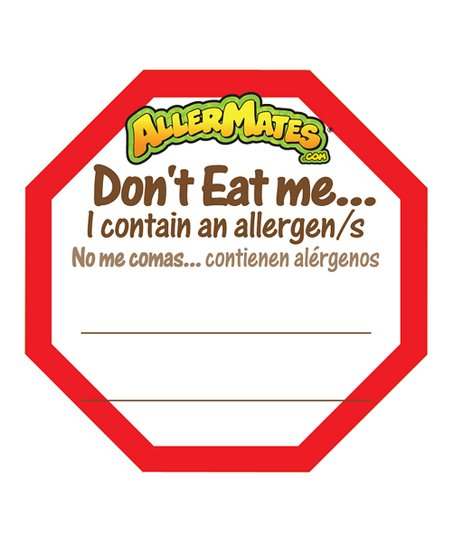 Fill-In 'Don't Eat Me' Food Packaging Label - Set of 48