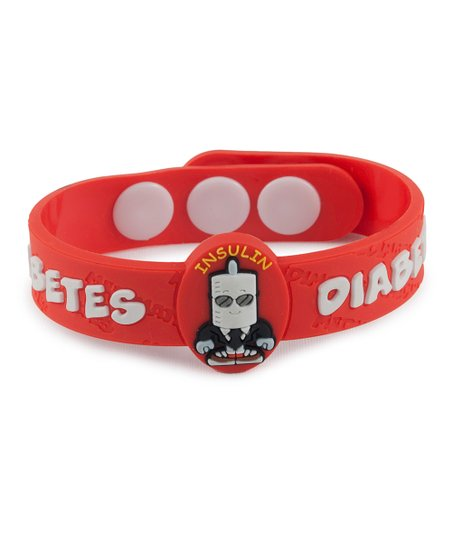 Diabetes Health Alert Bracelet - Set of Two