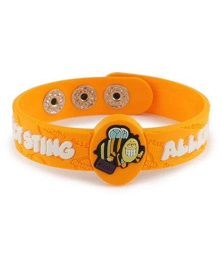 Insect Sting Health Alert Bracelet - Set of Two