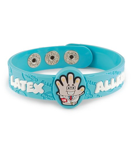Latex Health Alert Bracelet - Set of Two