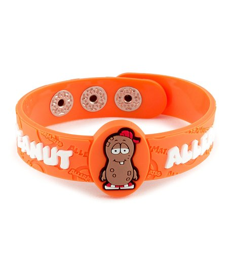 Peanut Health Alert Bracelet - Set of Two