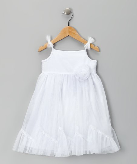 White Princess Caprice Dress – Infant, Toddler & Girls