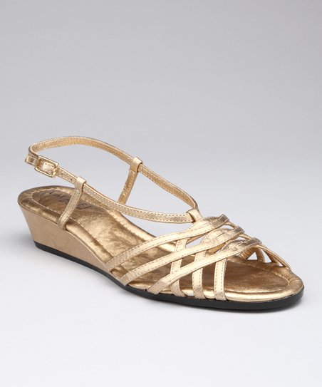 Gold Michela Sandal