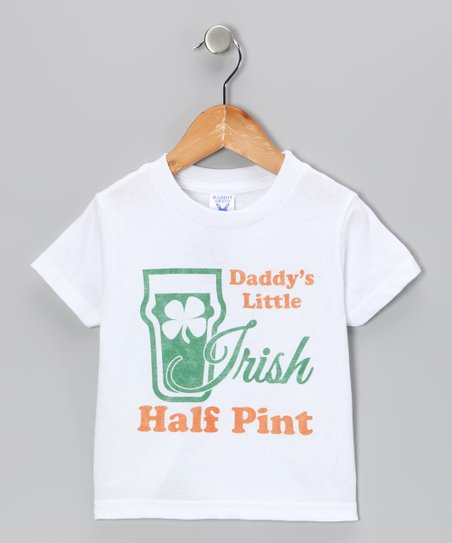 White 'Irish Half Pint' Tee - Toddler & Kids