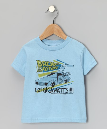 Light Blue '1.21 Gigawatts' Tee - Toddler & Kids