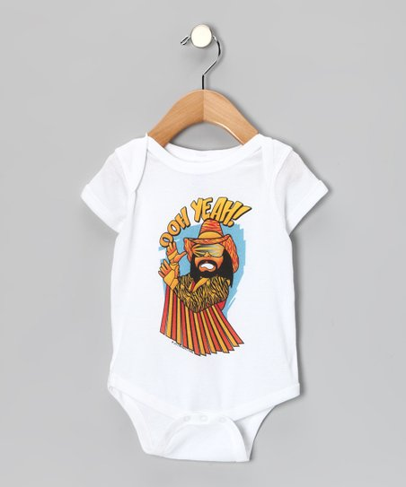 White &#039;Ooh Yeah!&quot; Bodysuit - Infant