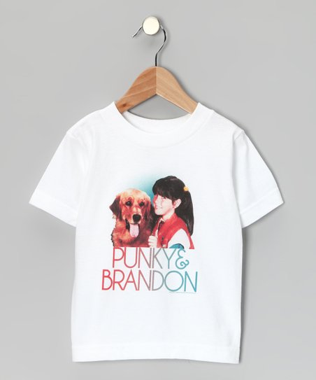 White 'Punky & Brandon' Tee - Toddler & Kids