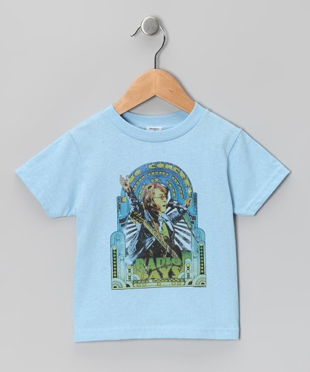 Light Blue 'Radio Days' Tee - Toddler & Kids