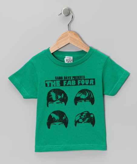 Kelly Green 'The Fab Four' Tee - Toddler & Kids