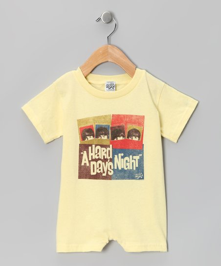 Banana 'A Hard Day's Night' Romper - Infant
