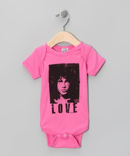 Raspberry 'Love' Jim Morrison Bodysuit - Infant