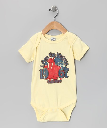 Banana &#039;I Am the Walrus&#039; Bodysuit - Infant