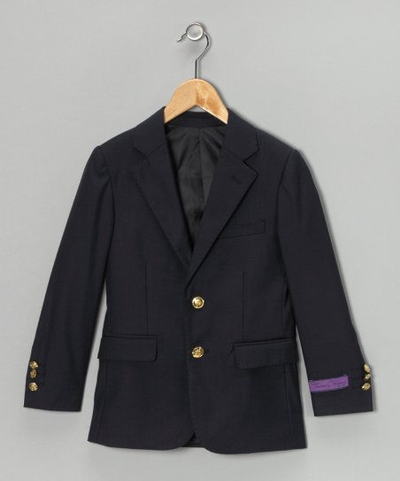 Navy Blazer - Toddler & Boys