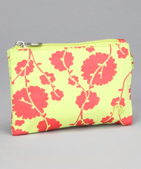 Small Cotton Vine Tomato Molly Organic Cosmetic Bag