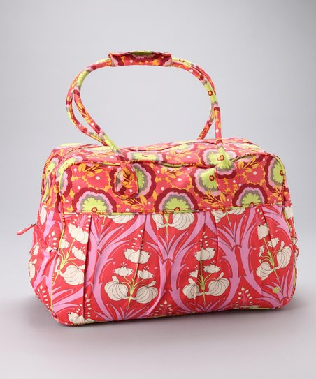 Tangerine Passion Lily Take Flight Organic Weekender