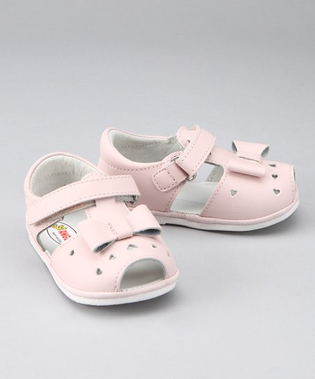 Pink Heart &amp; Bow Sandal