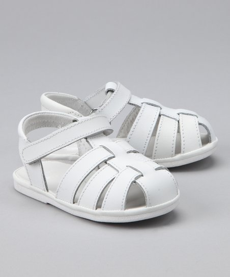 White Classic Fisherman Sandal