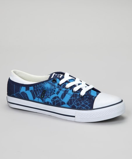 Blue Spider Sneaker