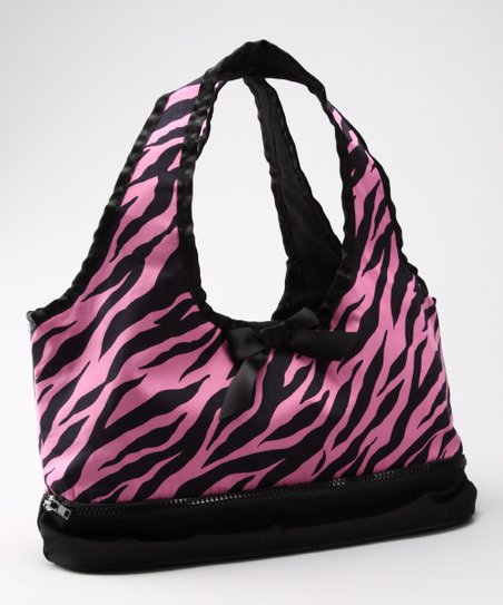 Pink & Black Zebra Doll Carrier