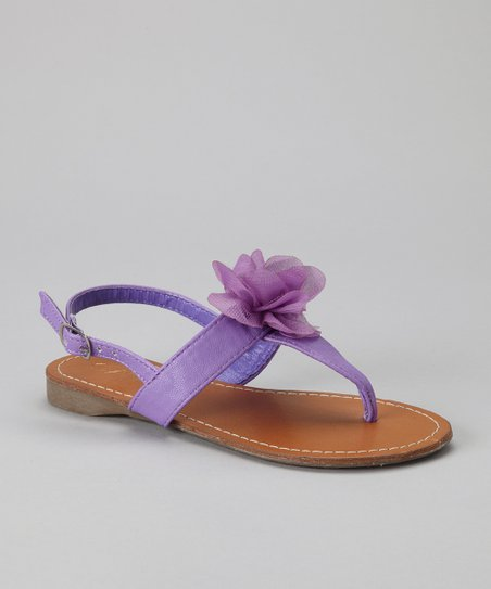 Purple Beach 23 Sandal