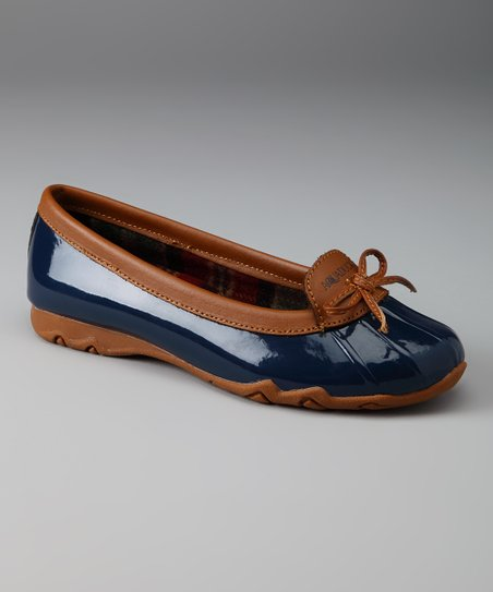 Navy Sail Duck Shoe
