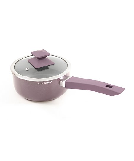 Purple Austral 1.7-Qt. Covered Saucepan